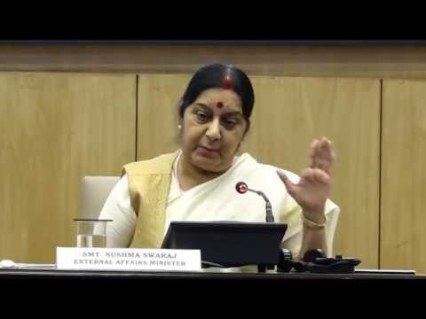 Press Conference by Union Minister Sushma Swaraj on Key Initiatives of Ministry of External Affairs
