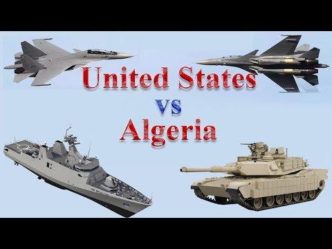 United States vs Algeria Military Power 2017