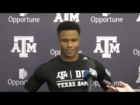 Texas A&M Pro Day | Justin Evans