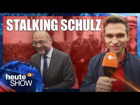 Fabian Köster verfolgt Martin Schulz quer durch die Republik | heute-show vom 15.09.2017