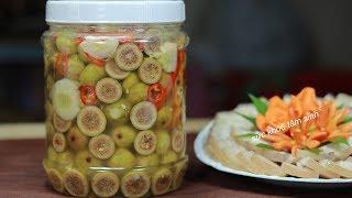 Cách làm Sung Muối dưa chuẩn vị món ăn người Việt
