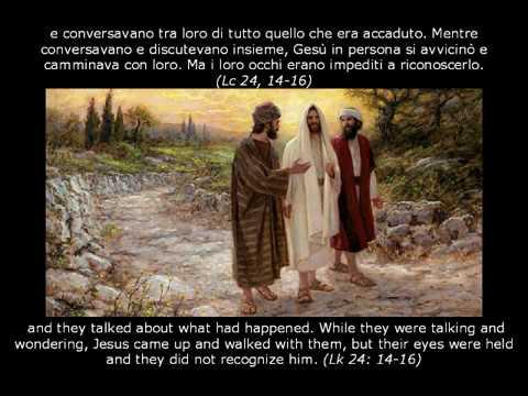 I discepoli di Emmaus - Lo riconobbero allo spezzare il pane