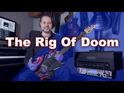 Vigier Excalibur Rock Arts - Mesa Boogie Triple Crown TC-50 Head - Torpedo Studio