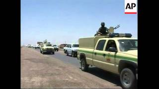 Military heading for Amarah ahead of new crackdown on militants