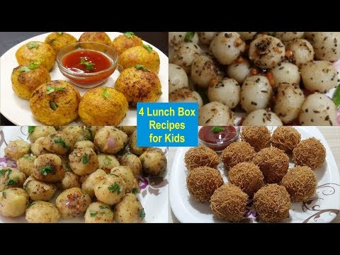 4 Lunch Box Recipes For Kids | Healthy And Easy Recipes