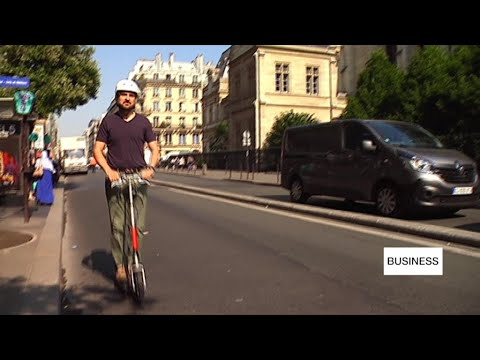Business daily - Electric scooter makers face roadbumps in Paris