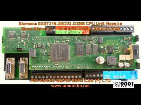 Siemens 6ES7216-2BD23-0XB8 CPU Unit Repairs @ Advanced Micro Services Pvt.Ltd,Bangalore,India
