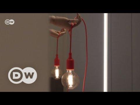 diy lampe mit holzhand dw deutsch youtube. Black Bedroom Furniture Sets. Home Design Ideas