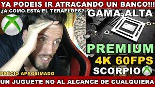 ¡¡¡XBOX SCORPIO: YA PODÉIS IR AHORRANDO!!! Hardmurdog - Precio aprox - Opinión - Español
