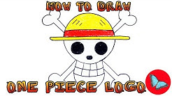 How To Draw One Piece Logo | Drawing Animals