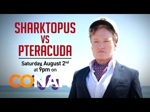 Sharktopus vs. Pteracuda is listed (or ranked) 13 on the list The Most Entertaining Awful Shark Horror Movies