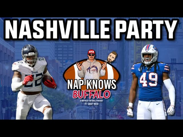 Buffalo Bills Beat the Chiefs & Titans Game Preview | Nap Knows Buffalo