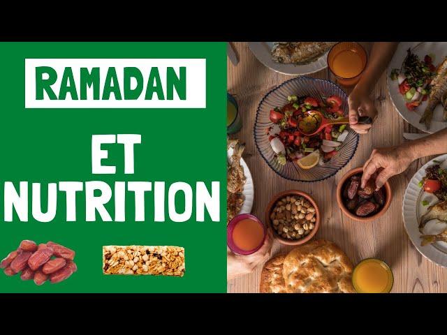 Ramadan et nutrition- La minute recette! Etounature