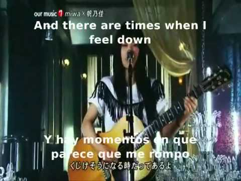 Miwa - Don´t cry anymore (Sub Spanish - English)