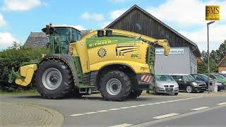 Der größte Feldhäcksler Krone BiGX 1180 im Ernteeinsatz  - largest forage harvester in the world