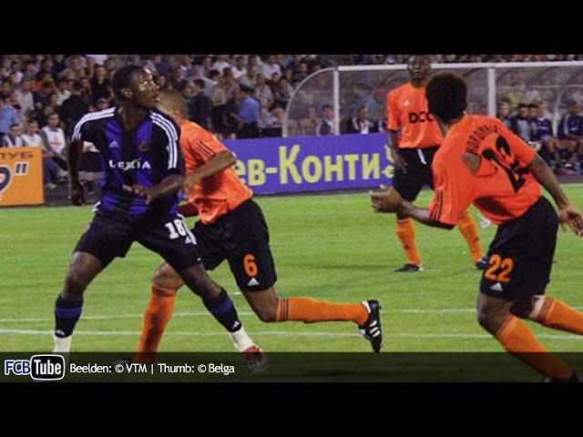 2002-2003 - Champions League - 03. 3de Voorronde - Shakhtar Donetsk - Club Brugge 1-1