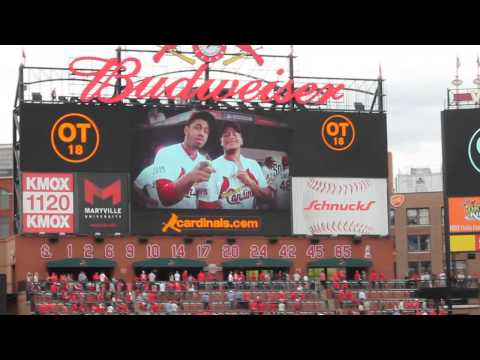 St Louis Cardinals Tribute to Oscar Taveras