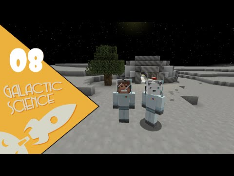"""Galactic Science! A Minecraft HQM Modpack, Episode 8 - """"We Decided to Go to Mars"""""""