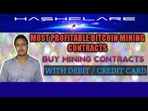 Hashflare  - Most Profitable Bitcoin Mining Contracts - Mine Bitcoin With Best Cloud Mining Company