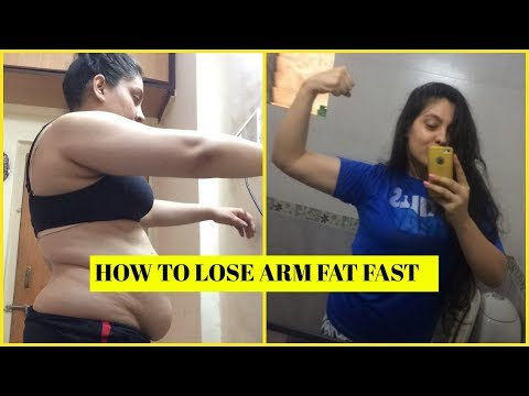 How To Lose Arm Fat Quickly At Home