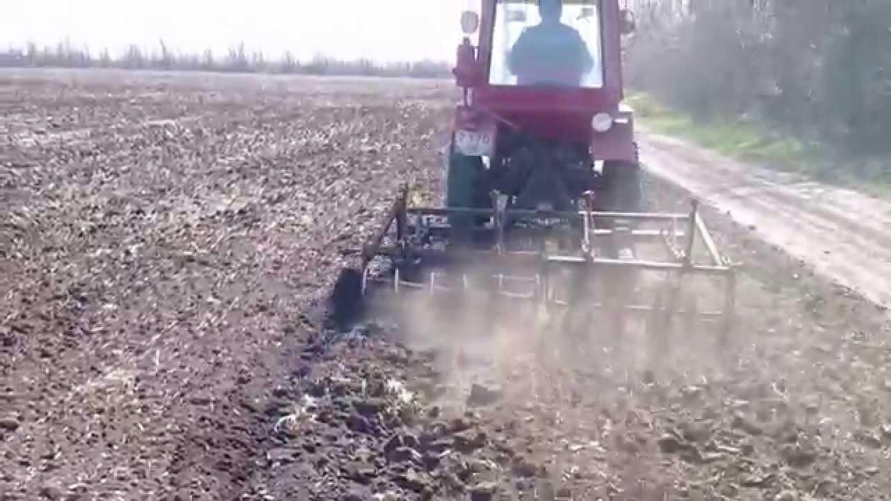 Самодельный полноприводный трактор - YouTube