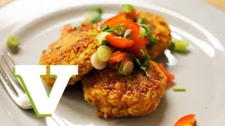 Curried Chickpea Burgers: Food For All S03e4/8