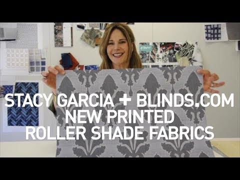 Window Covering Styles | New Printed Roller Shade Fabrics | Stacy Garcia + Blinds.com