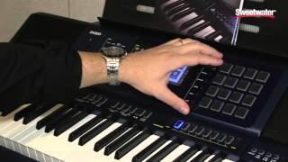 Winter NAMM 2016: Casio MZ-X500 Arranger Keyboard