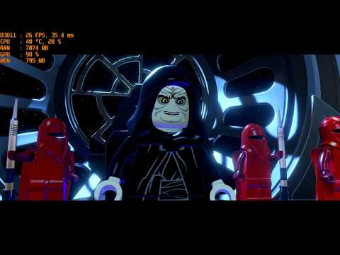 LEGO Star Wars The Force Awekens on Intel HD 4600
