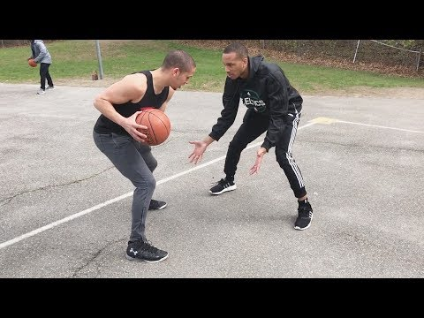 PLAYING BASKETBALL WITH AVERY BRADLEY!
