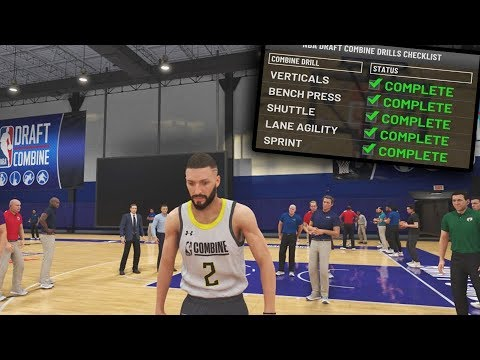 NBA 2k20 My Career Ep.3 The Nba Draft Combine!