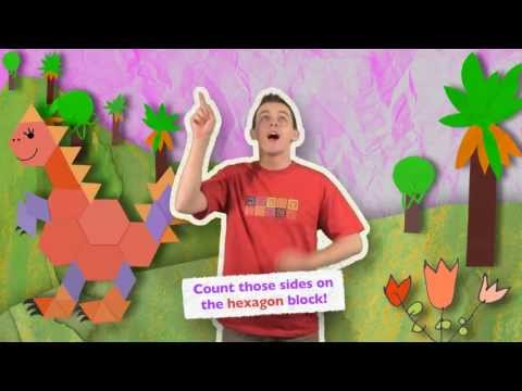 The HEXAGON Song   HeidiSongs' Sing & Spell Shapes!