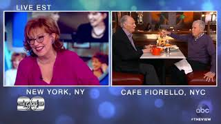 Joy Behar Gets A Special Table At Her Neighborhood Hangout