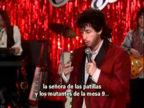 The Wedding Singer - Adam Sandler - Love Stinks - YouTube