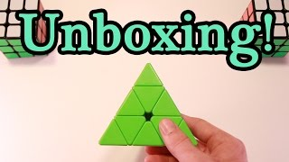 stickerless qiyi pyraminx unboxing   first impressions