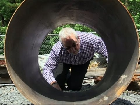 Engineer Describes Cutting Through Steel Pipe