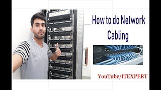 how to do network cabling in urdu and hindi
