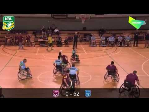 Wheelchair State of Origin Rugby League
