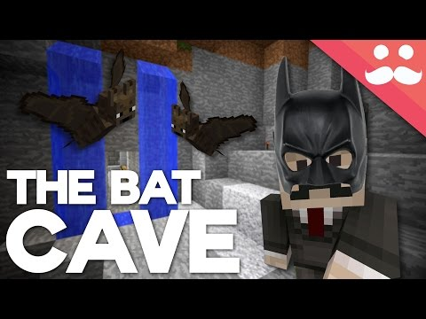 How to Build a BATCAVE in Minecraft!