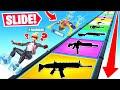 SLIDING *ONLY* For LOOT Game Mode in Fortnite Battle Royale