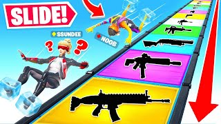 SLIDING For LOOT! Game Mode in Fortnite