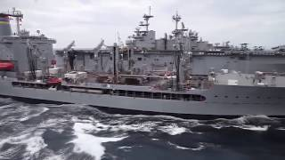 Gambar cover Refueling at Sea-Refueling Gigantic Aircraft Carriers With Millions $ of Oil