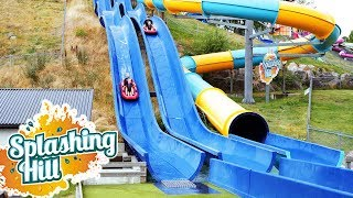 Splashing Hill at Skara Sommarland Water Park