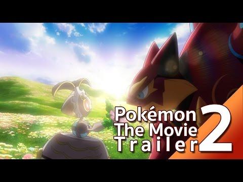 Trailer2 โปเกมอน เดอะ มูฟวี โวลเคเนียนกับจักรกลปริศนา มาเกียนา (13 ตุลาคมนี้)