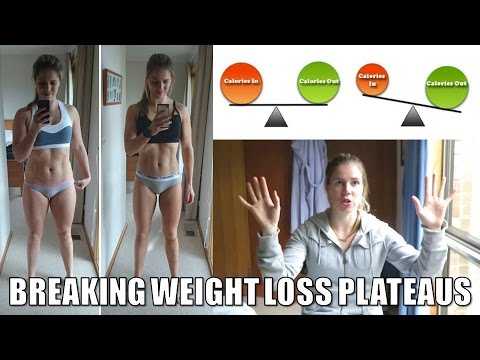 WEIGHT LOSS PLATEAUS | WHY they happen / HOW to break them