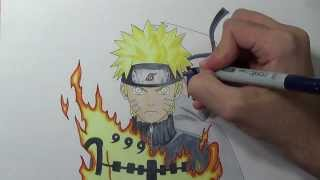 Drawing Naruto and Sasuke