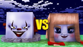 Minecraft: IT A COISA vs ANNABELLE 2! - Batalha de Casas