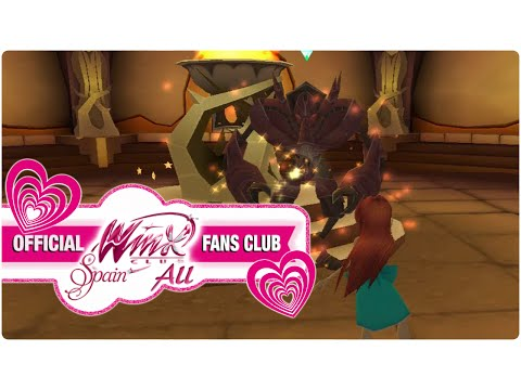 Winx Club PC Game - 35. Bloom Finds The False Dragon Flame