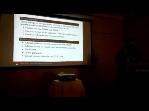 XDC2013: Jerome Glisse - Using process address space on the GPU