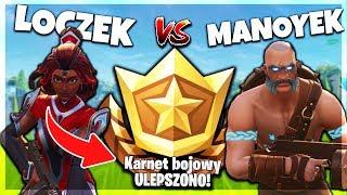 CHALLENGE O *NOWY KARNET BOJOWY* SEZONU 5! - FORTNITE z MANOYEK!   #97